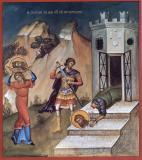 Icoana Tăierea Capului Sfântului Ioan