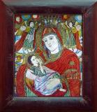 Icoana Maica Domnului cu Isus Hristos