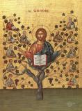 Icoana Isus Hristos cu Apostolii