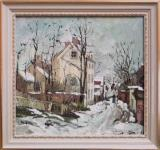 Iarna la Barbizon (replica Ion Andreescu)