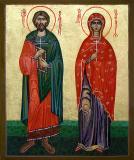 Icoana Sfintii Adrian si Natalia