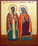 Icoana Sf. Mucenici Zenovie si Zenovia, Sora Sa