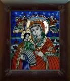 Icoana Maica Domnului cu Isus Hristos #340