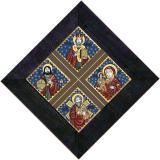 Icoana Sfantul Nicolae, Sfantul Andrei, Isus Hristos si Maica Domnului