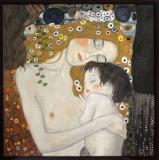 Mama si copilul, Gustav Klimt