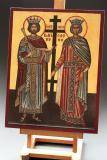 Icoana Sfinţii Împăraţi Constantin şi Elena