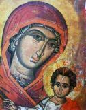 Icoana Maica Domnului cu Isus Hristos #78