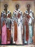 Icoana Sfântul Nicolae, Sfântul Petru şi Sfântul Pavel