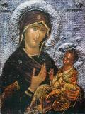 Icoana Maica Domnului cu Isus Hristos #80
