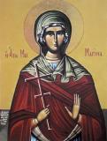 Icoana Sfânta Mucenica Marina